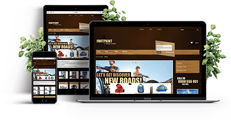 Footprint – Joomla! Template | Funktionen des Templates