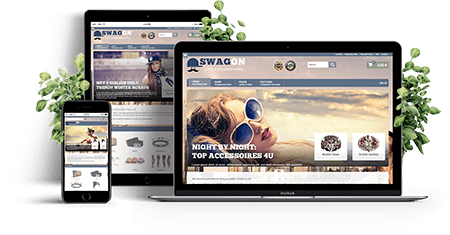 SwagOn – Joomla! Template | Funktionen des Templates
