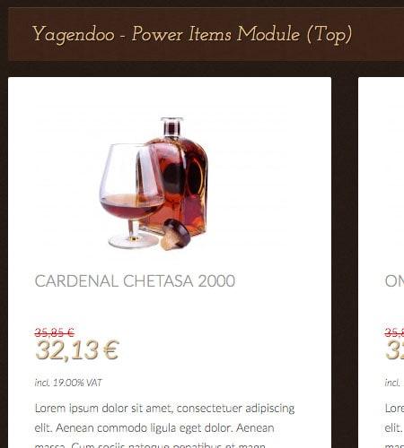 Vino Veritas – Joomla! Template | Demo-Pakete und Yagendoo Joomla! Module enthalten