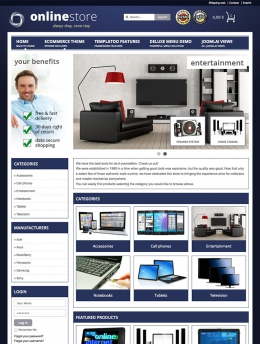 Flexible - Joomla! Template