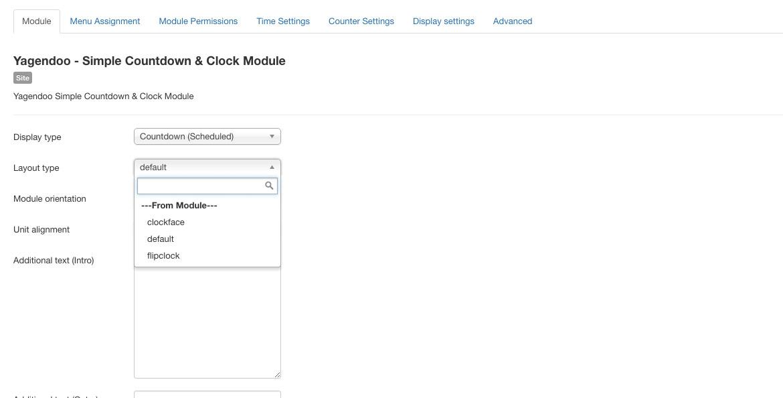 Power Countdown Module | For Virtuemart & JoomShopping