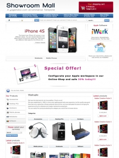Showroom - Joomla! Template