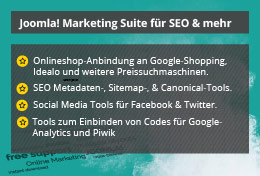 Marketing & SEO Suite für Joomla!