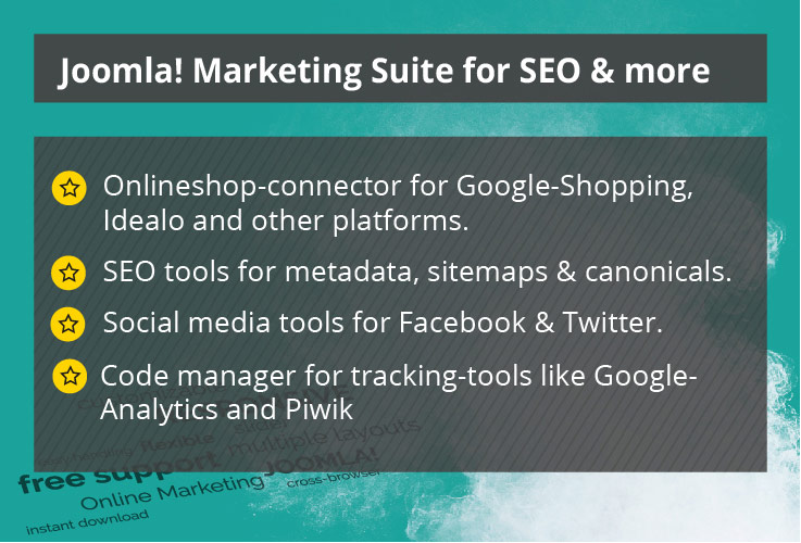 Marketing & SEO Suite for Joomla!