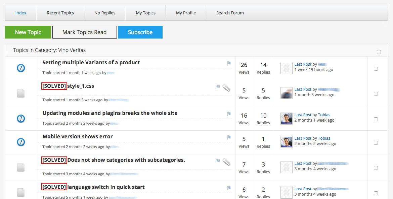 Kunena Solved Plugin | For Joomla!