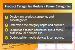 Power Categories - Joomla! Module