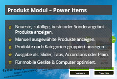 Power Items – Joomla! Modul