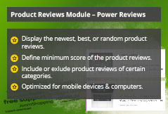Power Reviews - Joomla! Module