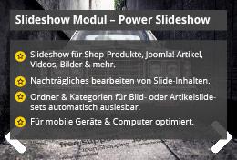 Power Slideshow – Joomla! Modul