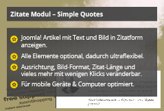 Simple Quotes – Joomla! Modul
