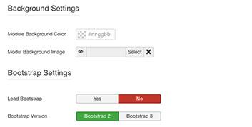 Parameters - Display Settings